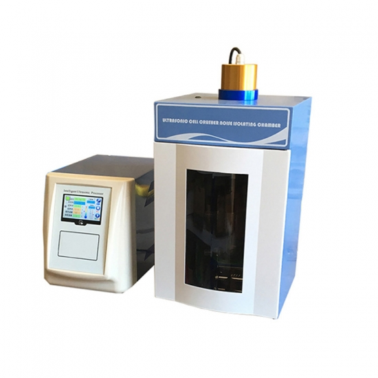 Big Touch LCD Display Ultrasonic Homogenizer