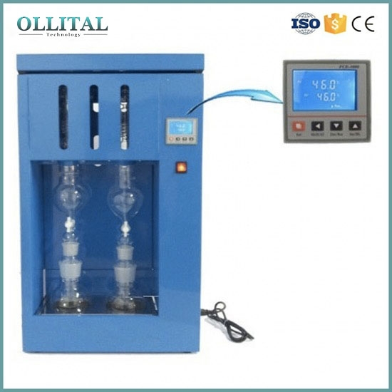 Lab Soxhlet Extraction Fat Extracting Out Device