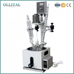 Small Volume Jacketed Glass Reaction Kettle