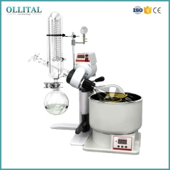 Vertical Rotary Evaporator With Vacuum Pump And Chiller