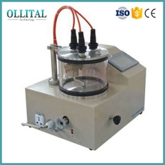 Small PLC Controlled Three-Target Plasma Sputtering Instrument