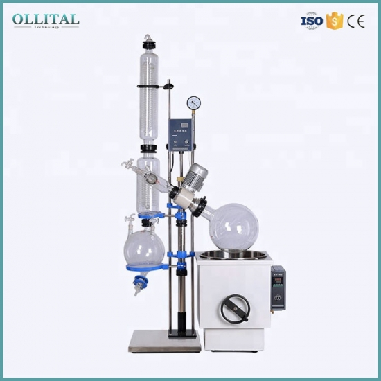 High Efficiency Glass Alcohol Distillation Equipment
