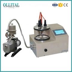 Desktop High Power Rotary Stage DC Magnetron Sputtering Coater System For Coating All Metallic Films