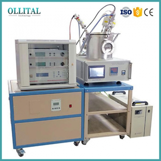 Three Rotary Target Plasma Sputtering Coater