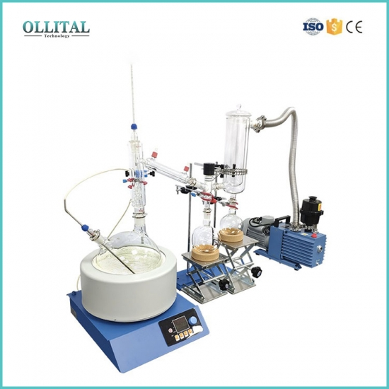 Complete Set Short Path Distillation For Plant Oil