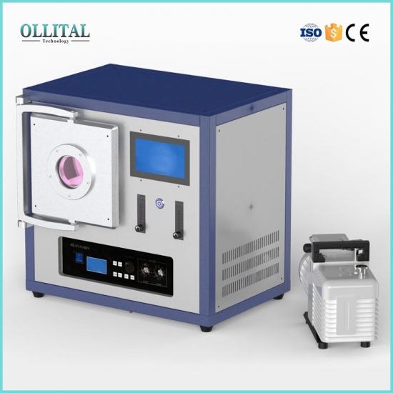 Plasma Cleaner With Stainless Steel Chamber