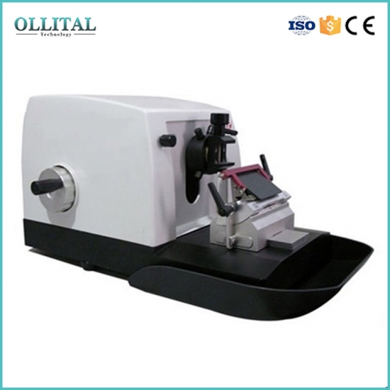 Histoloty Pathological Tissue Manual Microtome Rotary Microtome