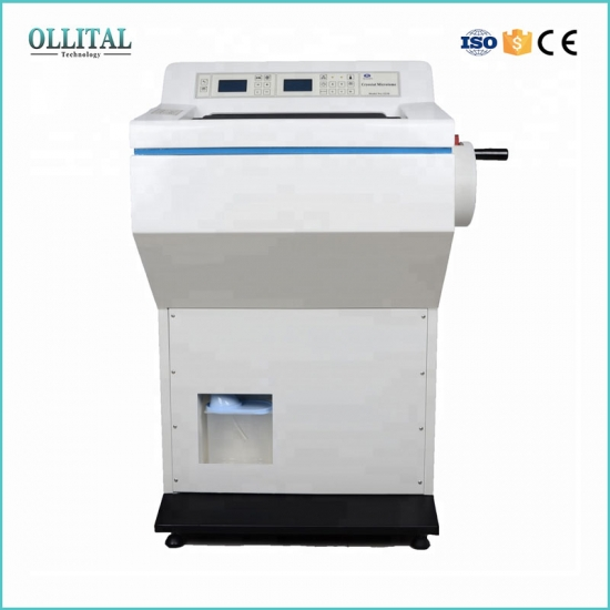 Biological Tissue Cryostat Freezing Microtome