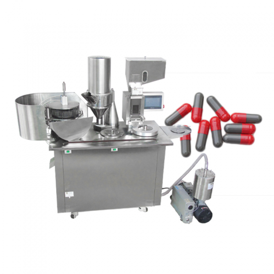 With Touch Screen Quality Assurance Hand Operated Herbal Automatic Capsule Filling Machine