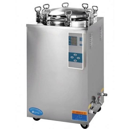 hospital stainless steel vertical steam autoclave sterilizer