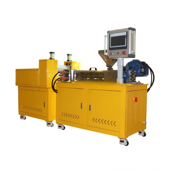 Lab Scale Extruder/Plastic Film Twin Screw Extruder