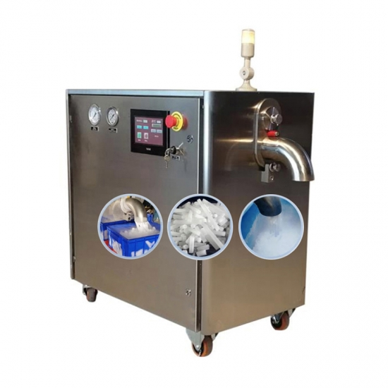 Automatic Electric Strip Dry Ice Making Machine