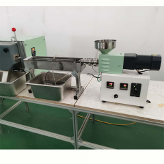 Small Plastic Rubber Extruder Granulator Machine for Laboratory Use
