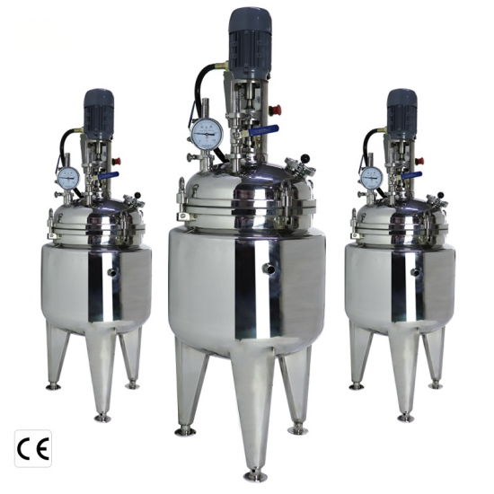 40L 60L 80L Lined Stainless Steel Chemical Reactor